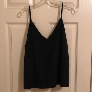 Forever 21 suede tank top